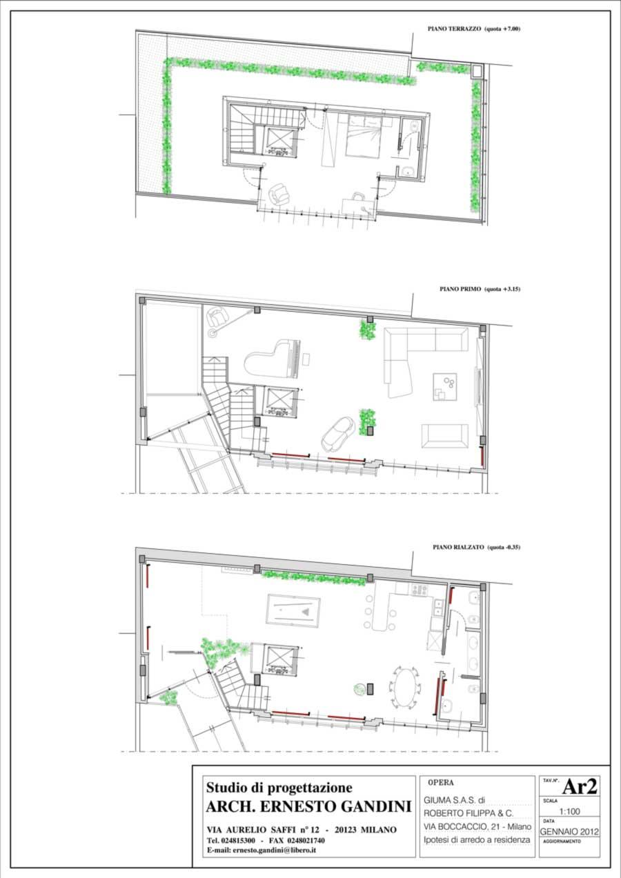 Ipotesi Residenza 1