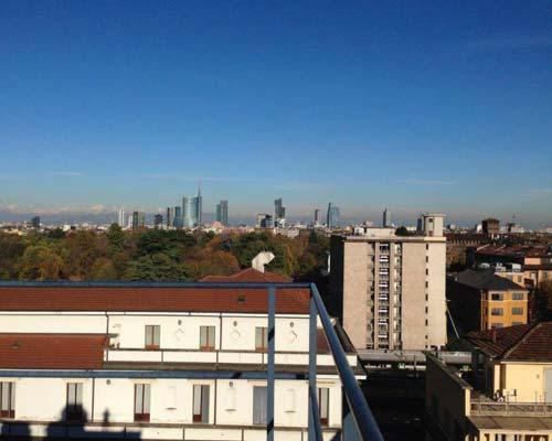 MILANO VIA LEOPARDI –  Trilocale  con terrazzo