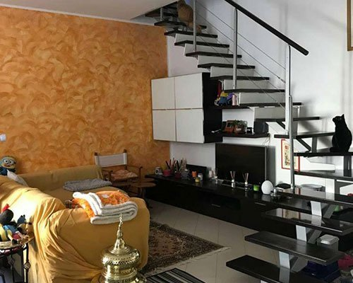 appartamento via vitruvio