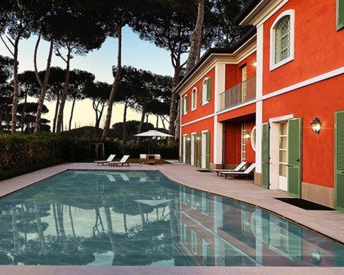 Villa con piscina forte dei marmi