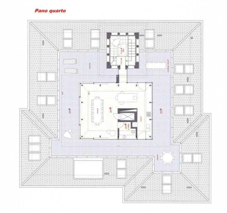 Planimetria quarto piano